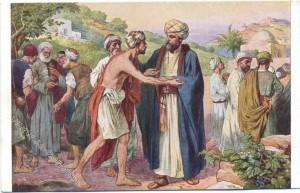Szene zu Matthäus 20,1-16: Das Gleichnis von den Arbeitern