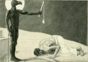 Der Mammon und sein Sklave, Sascha Schneider, 1896