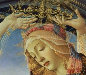 The Madonna of the Magnificat, by Sandro Botticelli