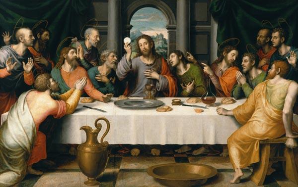 erzählung bibel letztes abendmahl