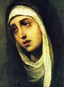 Bartolomé Esteban Murillo (1617-1682) In honor of Our Sorrowful Mother – Fourth Sword