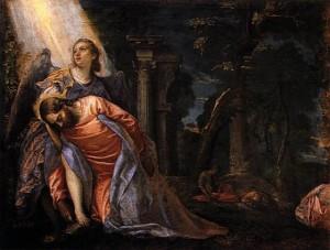 Paolo Veronese, Christus im Ölgarten (Getsemani), 1580/88, Mailand