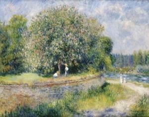 Auguste Renoir: Blühender Kastanienbaum, 1881