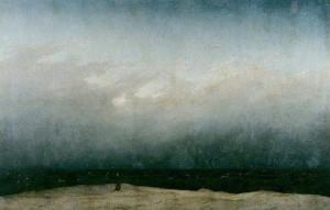 Caspar David Friedrich, Der Mönch am Meer, 1809