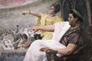 Julius Cäsar : Gebt dem Volk Brot und Spiele;mehr brauchen sie nicht