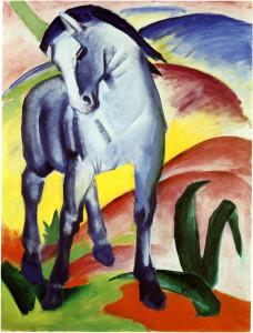 blaues-pferd-i