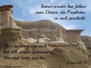 Jeremia 25, 4